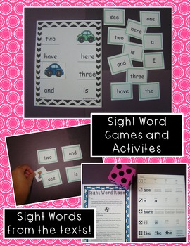 Guided Reading Unit - School Supplies