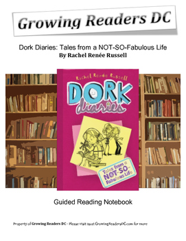 Guided Reading Unit for Dork Diaries: Tales from a NOT-SO-Fabulous Life