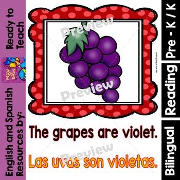 Guided Reading - Violet Color / Color Violeta  - Dual