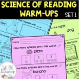 Guided Reading Warm Ups Kindergarten