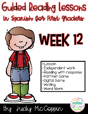 Guided Reading Week 12 in Spanish
