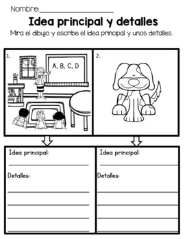 Guided Reading Week 13 in Spanish