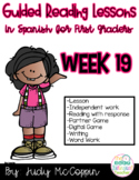 Guided Reading Week 19 in Spanish