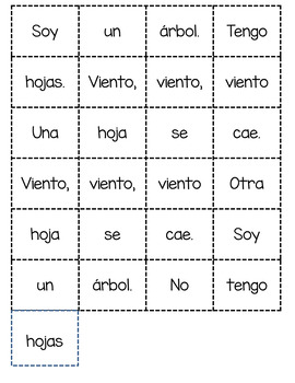 Guided Reading Week 25 in *Spanish*