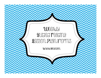 Guided Reading Weekly Format