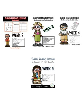 Guided Reading Weekly Lessons 2-5