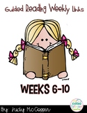 Guided Reading Weekly Lessons 6-10