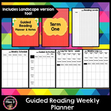 Guided Reading Weekly Planner and Data Log