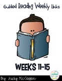 Guided Reading Weeks 11-15