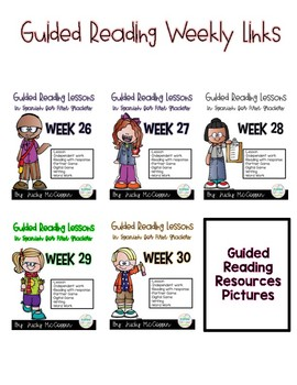 Guided Reading Weeks 26-30