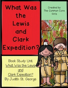 Guided Reading: What Was the Lewis and Clark Expedition- No Prep, Printables