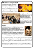 Guided Reading: What's happening in Iraq?