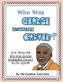 Guided Reading:Who Was George Washington Carver?Common Core, No Prep, Printables
