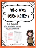 Guided Reading: Who Was Helen Keller? Common Core, No Prep, Printables