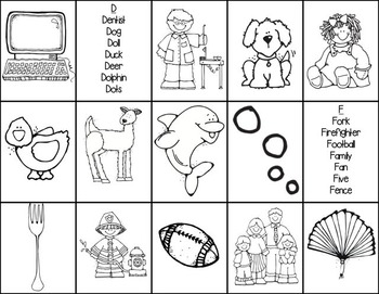 Guided Reading Word Sort Cards & Letter Tracing Book