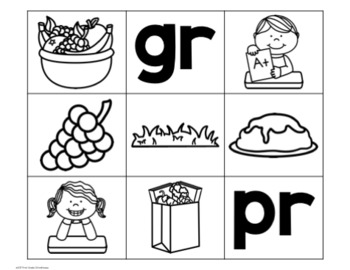 Guided Reading Word Sorts Beginning Consonant Blends
