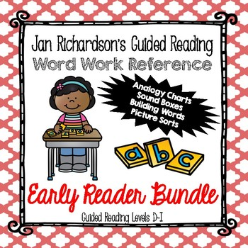 Guided Reading Word Work: Early Level BUNDLE