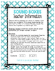 Guided Reading Word Work: Emergent Sound Boxes