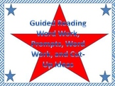 Guided Reading Word Work, Prompts, Word Work, and Cut-Up Ideas
