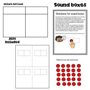 Guided Reading Word Work for Kids Reading on Level B!