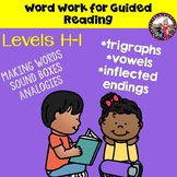 Word Work Guided Reading