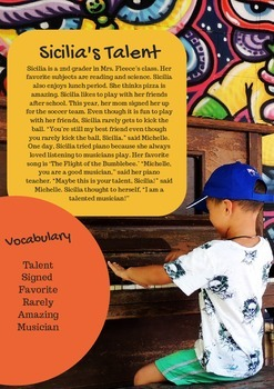 Guided Reading Worksheet with Activities!