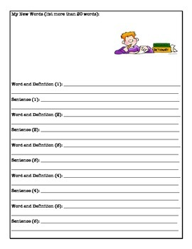 Guided Reading Worksheets