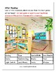 """Guided Reading Worksheets - """"Yucky the Germ""""  Level E - Visual Impairments"""