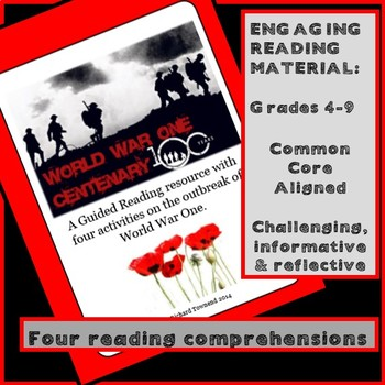 Guided Reading: World War One - How did it begin?