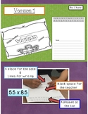 Guided  Reading Writing Journal