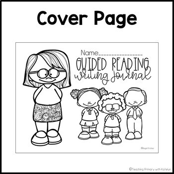Guided Reading Writing Activities: Journal Template