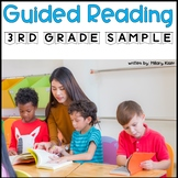 Guided Reading Year Long Lesson Plan 3rd Grade (FREE SAMPLE)