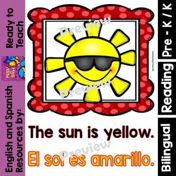 Guided Reading - Yellow Color / Color Amarillo - Dual
