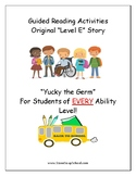 """Guided Reading Worksheets - """"Yucky the Germ"""" - Level E - Physical Disabilities"""