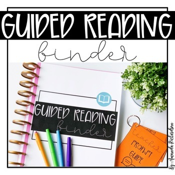 Guided Reading Binder (EDITABLE)
