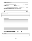Independent Reading Conference Notes Template
