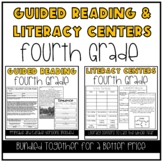 Guided Reading and Literacy Centers Bundle: 4th Grade