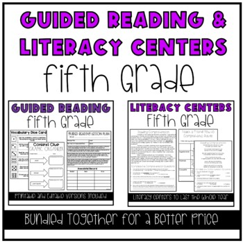 Guided Reading and Literacy Centers: 5th Grade