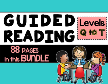 Guided Reading and Literature Circle {READY MADE} Bundled