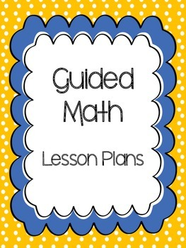 Guided Reading and Math Cover Pages