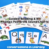 Phonics Posters for Guided Reading and RTI Reading Interve