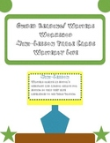 Guided Reading and Writers Workshop Mini-Lesson Table Cards