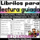 Guided Reading books y más actividades - SPANISH