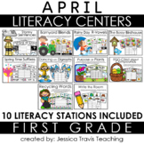 Guided Reading for 1st Grade {APRIL}