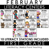 Guided Reading for 1st Grade {February}