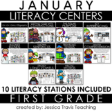 Guided Reading for 1st Grade {JANUARY}