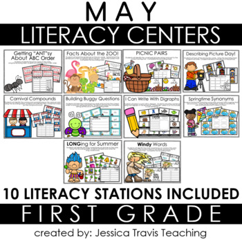 Guided Reading for 1st Grade {MAY}