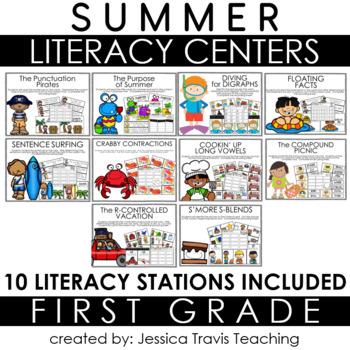Guided Reading for 1st Grade {SUMMER}
