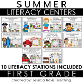 Guided Reading for 1st Grade {SUMMER}