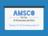 Guided Reading for AMSCO AP US Government - Chapter 10: Th